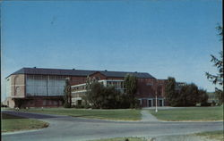 The Alumni Memorial Gymnasium and Indoor Field House, University of Maine