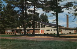The Harvey Gibson Memorial Gymnasium at Fryeburg Academy