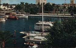 Memorial Pier, Yacht Basin Postcard
