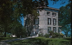 Octagon House, Watertown, Wisconsin Postcard