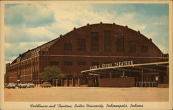Fieldhouse and Theatron, Butler University