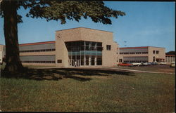 Harlow H. Curtice Community College Building at Flint College Postcard