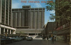 The Omaha Hilton Nebraska Postcard