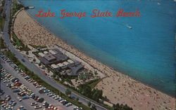 Lake George State Beach Postcard