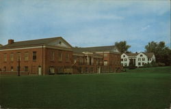 Student Union Building, Lycoming College Postcard