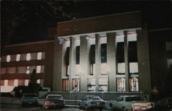 Library, The University of Iowa Postcard