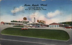 Home Ranch Motel Postcard