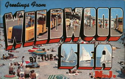 Greetings from Wildwood-By-The-Sea, NJ Postcard