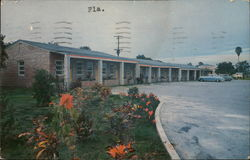 Grove Motel Postcard