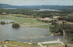 Air View Showing Panther Pond in Background