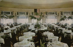 The Beautiful Circular Dining Room - Hotel Hershey