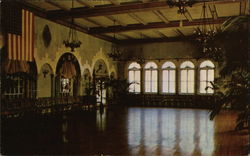 The Spanish Room of Hotel Hershey for Private Social Functions