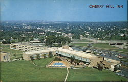 Aerial View of Cherry Hill Inn