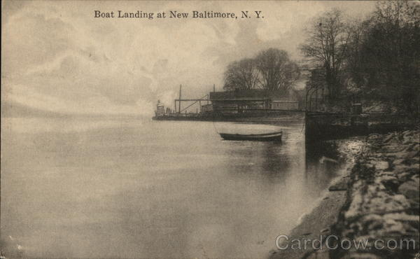 Boat Landing New Baltimore New York
