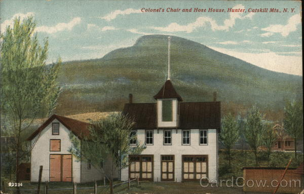 Colonel's Chair and Hose House Hunter New York Catskills
