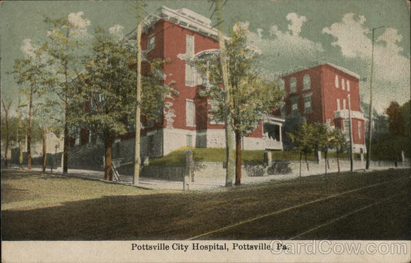 Pottsville City Hospital Pennsylvania