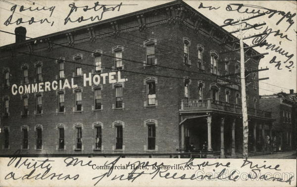 Commercial Hotel Keeseville New York