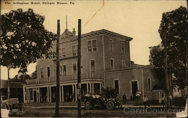 The Arlington Hotel Shinglehouse Pennsylvania