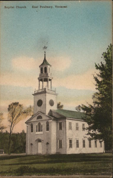 Baptist Church East Poultney Vermont