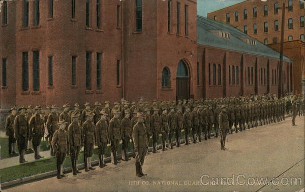 13th Co. National Guard and Armory Jamestown New York
