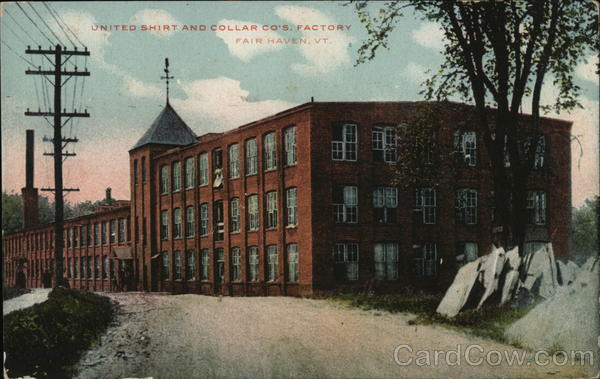 United Shirt and Collar Co.'s Factory