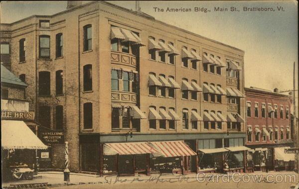 The American Bldg., Main St.