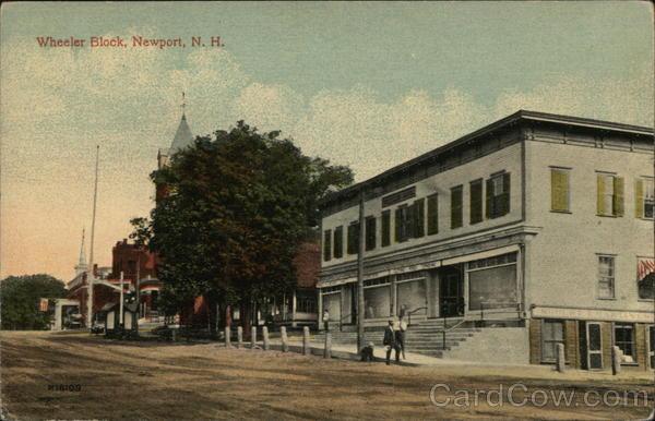 Wheeler Block Newport New Hampshire