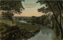 Eighteen Mile Creek from Main Street Postcard