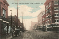 Main Street, north from Seventh Street