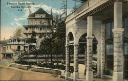Famous Basin Spring Postcard