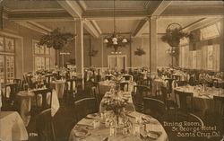 Dining Room, St. George Hotel