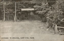 Entrance to Grounds, Camp Etna