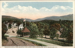 Franconia Notch from Mountain View House, North Woodstock Postcard