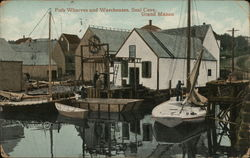 Fish Wharves and Warehouses, Seal Cove