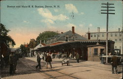 Boston and Main R.R. Station