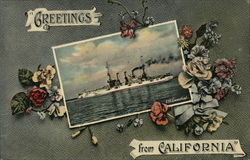 Greetings from California - USS Connecticut