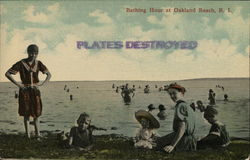 Bathing Hour Postcard