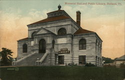 Memorial Hall and Public Library