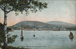View from Dillingham's Point Postcard