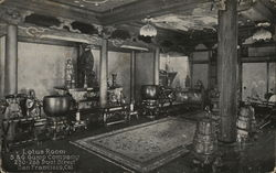 Lotus Room, S & G Gump Company, 230 - 268 Post Street Postcard