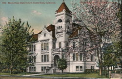 Santa Rosa High School Postcard
