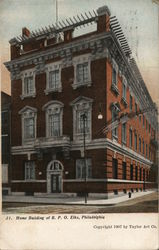 Home Building of B. P. O. Elks