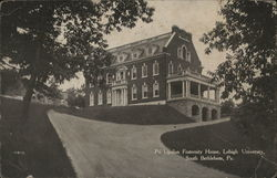Psi Upsilon Fraternity House, Lehigh University