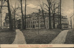 Monnett Hall, Ohio Weylan University Postcard