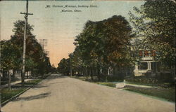 Mount Vernon Avenue, looking West