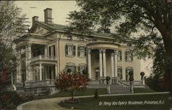 Dr. Henry Van Dyke's Residence