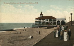 Gordon's Pavilion and Beach Front Postcard