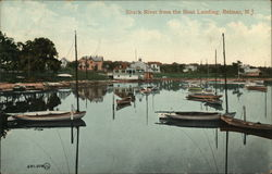 Shark River from the Boat Landing Postcard