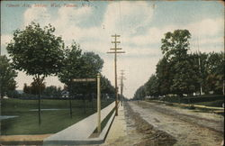 Pitman Ave., Looking West Postcard