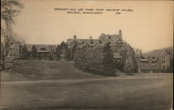 Severance Hall and Tower Court, Wellesley College
